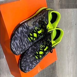 Green Cheetah Nike Shoes